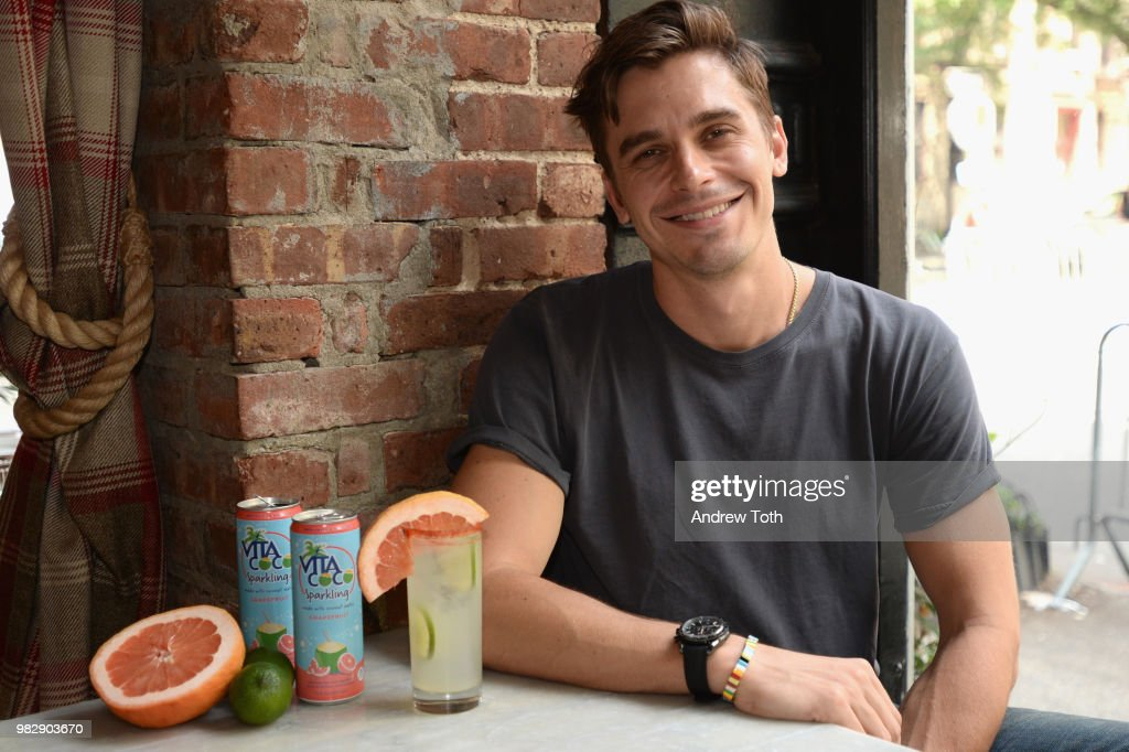 Antoni Porowski And Vita Coco Celebrate The Launch Of Vita Coco Sparkling And The Free Rides At NYC Pride In The West Village