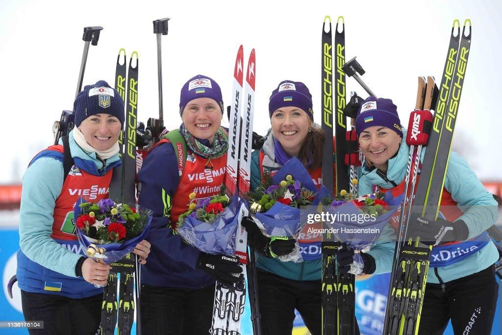 IBU Biathlon World Championships - Men's and Women's Relay : Fotografía de noticias