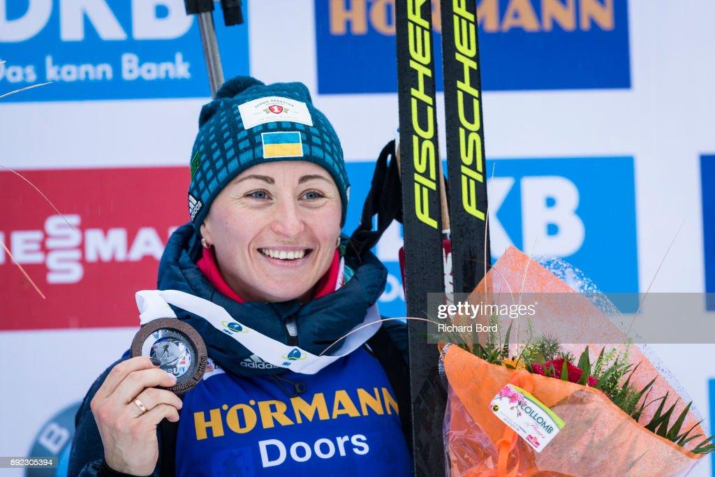 IBU Biathlon World Cup -  Women's  Sprint : News Photo