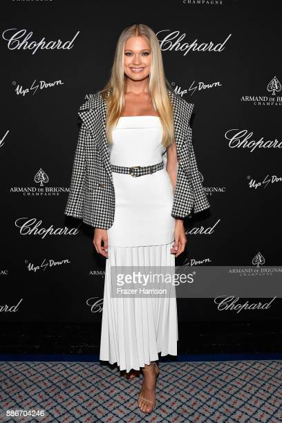 Vita Sidorkina attends Creatures Of The Night LateNight Soiree Hosted By Chopard And Champagne Armand De Brignac at The Setai Miami Beach on December...