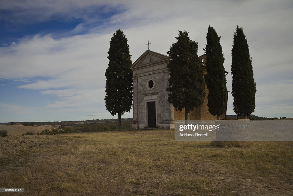 Vitaleta chapel : Foto de stock