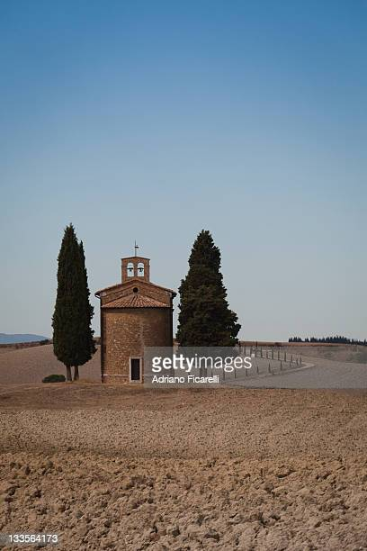 vitaleta chapel - adriano ficarelli stock pictures, royalty-free photos & images