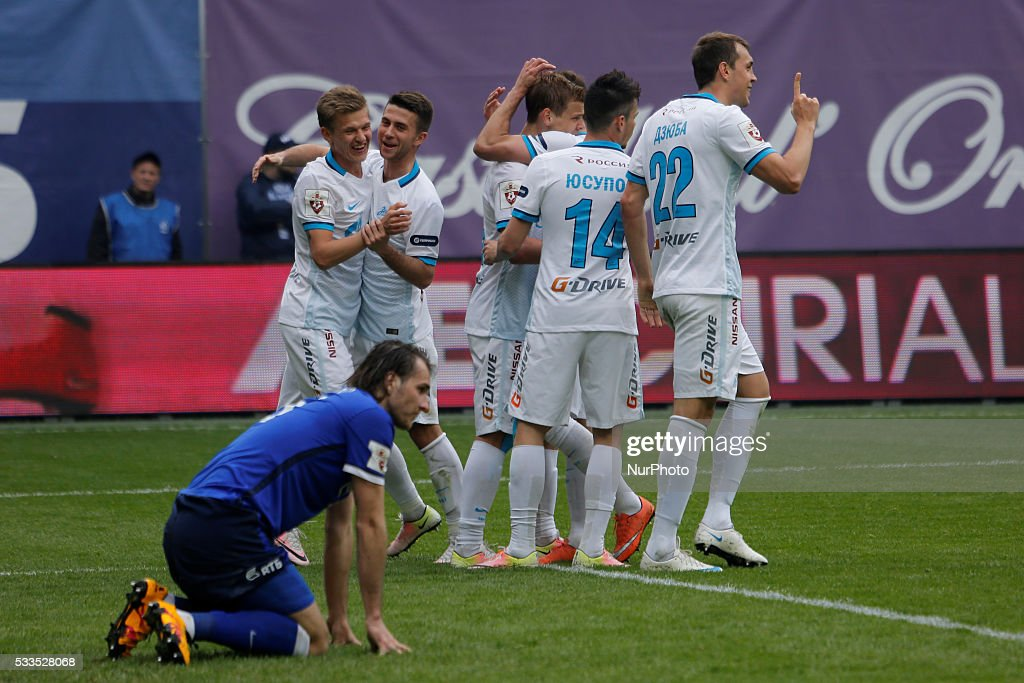 FC Dynamo Moscow v FC Zenit St. Petersburg - Russian Football Premier League match : News Photo