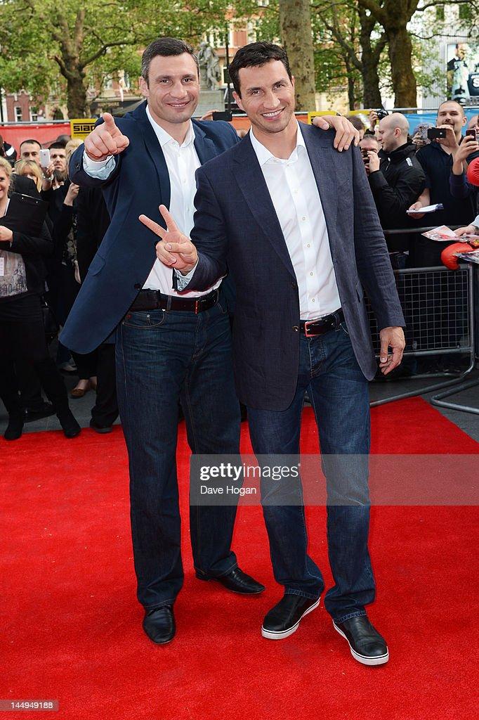 Klitschko - UK Film Premiere - Inside Arrivals