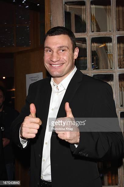"""Vitali Klitschko Beim """"Laureus Medien Preis"""" Im """"Do Brasil"""" Variete Theater In München ."""