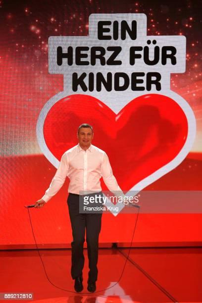 Vitali Klitschko during the Ein Herz Fuer Kinder Gala show at Studio Berlin Adlershof on December 9, 2017 in Berlin, Germany.