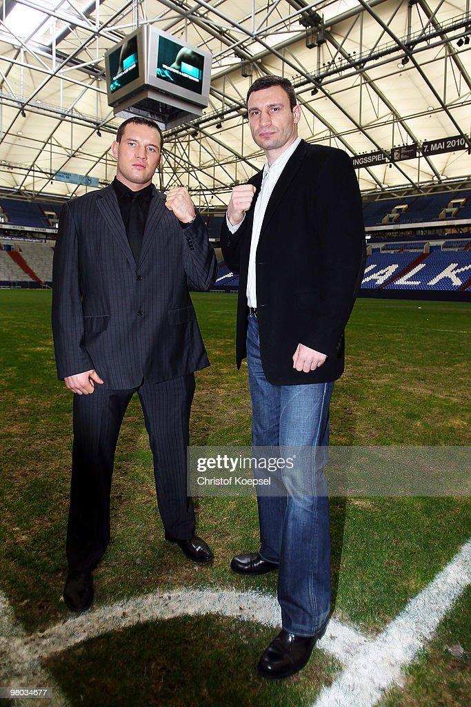 Vitali Klitschko v Albert Sosnowski - Press Conference