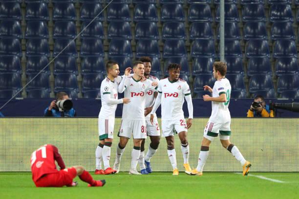 AUT: RB Salzburg v Lokomotiv Moskva: Group A - UEFA Champions League
