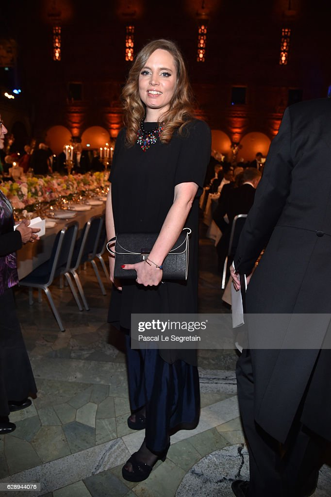 Vitalie Taittinger attends the Nobel Prize Banquet 2015 at City Hall on December 10, 2016 in Stockholm, Sweden.