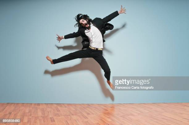 vitality - mad person picture stock photos and pictures