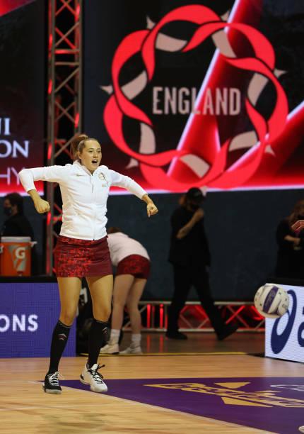 NZL: New Zealand v England - Cadbury Netball Series: Game 2