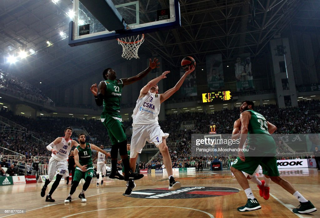 Panathinaikos Superfoods Athens v CSKA Moscow - Turkish Airlines Euroleague