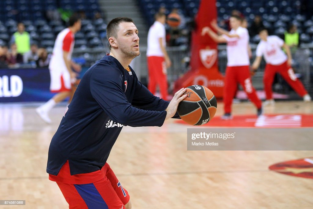 Crvena Zvezda mts Belgrade v CSKA Moscow - Turkish Airlines EuroLeague