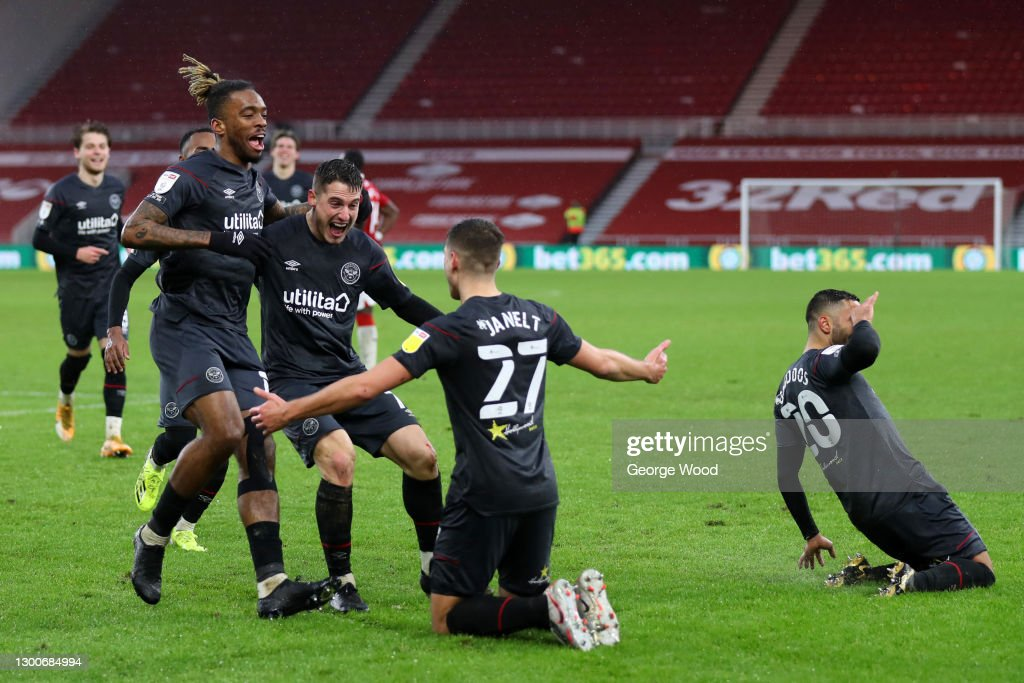 Middlesbrough v Brentford - Sky Bet Championship : News Photo