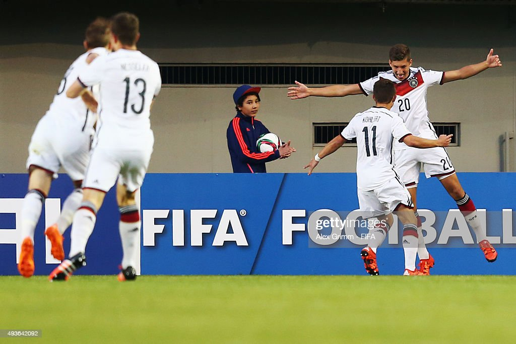 Argentina v Germany: Group C - FIFA U-17 World Cup Chile 2015 : News Photo
