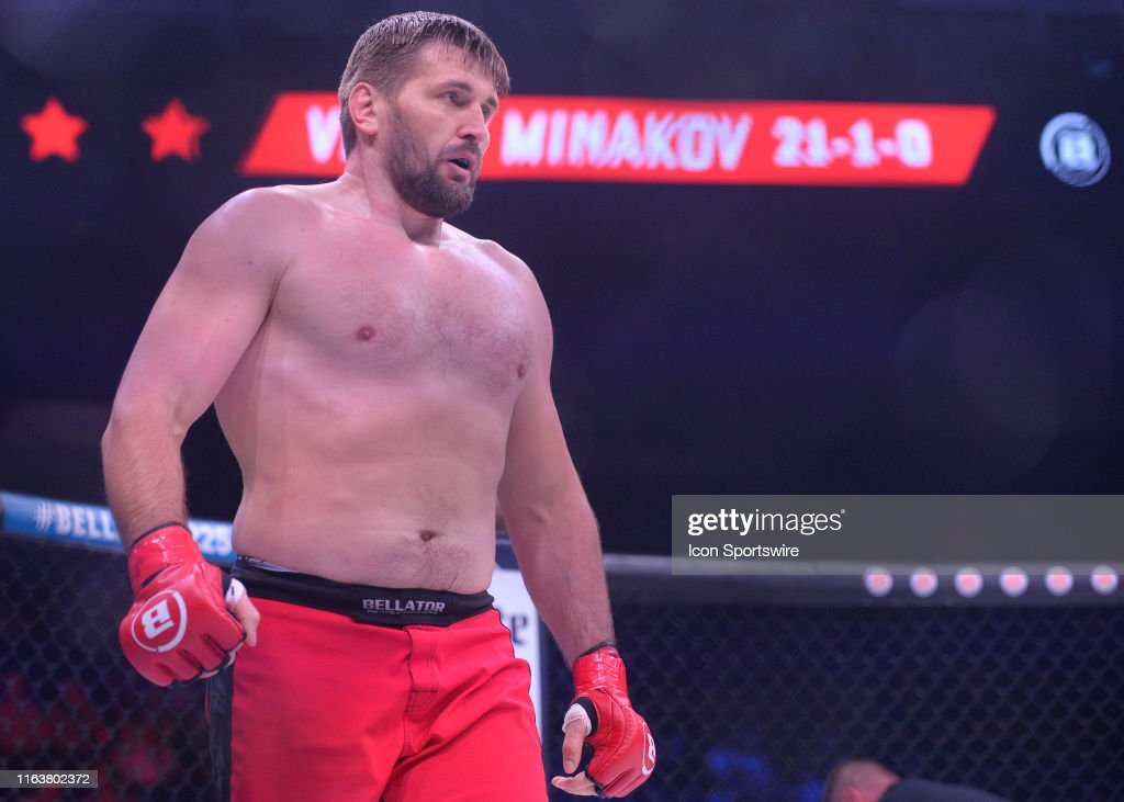 MMA: AUG 24 Bellator MMA Mitrione v Kharitonov 2 : News Photo