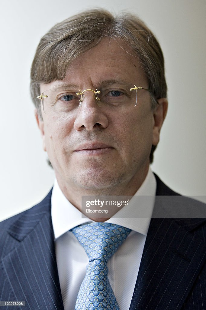 Vitaly Saveliev, chief executive officer of OAO Aeroflot, stands for a portrait in New York, U.S., on Monday, June 21, 2010. Moscow-based Aeroflot is Eastern Europe's biggest airline. Photographer: Daniel Acker/Bloomberg via Getty Images