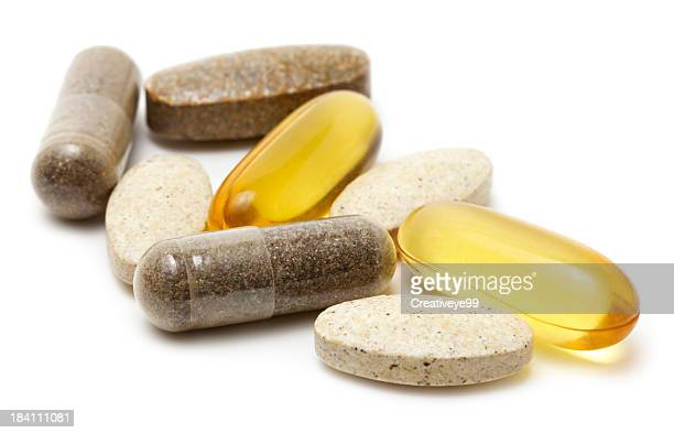 vitamin supplements - nutritional supplement stock pictures, royalty-free photos & images