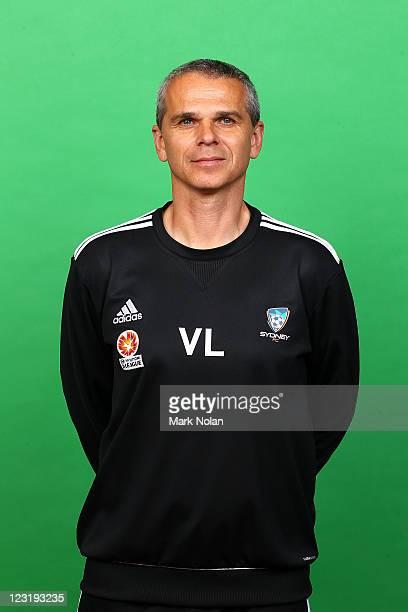 Vitezslav Lavicka poses for a photo during the Sydney FC ALeague headshots session at Macquarie Uni on September 1 2011 in Sydney Australia