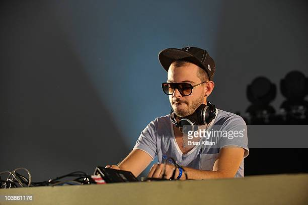Vito De Luca of Aeroplane performs during day 2 of 2010 Electric Zoo held at Randall's Island Park on September 5 2010 in New York City