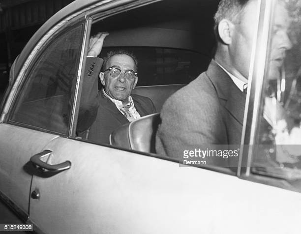Vito Genovese, one of the most powerful American crime syndicate bosses, goes free after posting $50,000 bail.