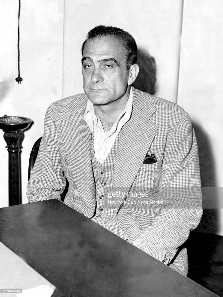 Vito Genovese wanted in connec...