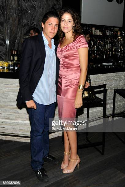 Vito Schnabel and Lola Schnabel attend ABY ROSEN PETER BRANT ALBERTO MUGRABI Dinner at W SOUTH BEACH at W SOUTH BEACH on December 3 2009 in Miami...