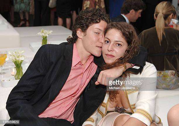 Vito Schnabel and Lola Schnabel during Whitney Museum Contemporaries Host Annual Art Party and Auction Benefiting The Whitney Independent Study...