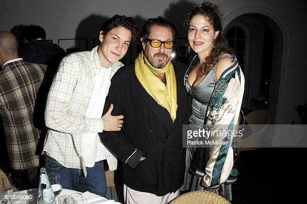 Vito Schnabel Julian Schnabel and Lola Schnabel attend EDMISTON Private Dinner hosted by Allison Sarofim and Stuart Parr at Casa Tua on December 3...