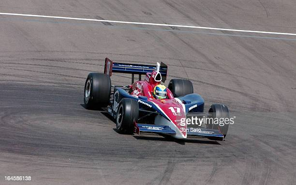 'Vitor Meira during IndyCar 2004 Bridgestone Indy Japan 300 Day 2 at Twin Ring Motegi Super Speedway in Motegi Japan '