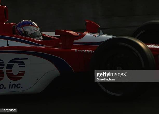 Vitor Meira of Brazil drives the ABC Supply Inc AJFoyt Racing Dallara Honda during practice for the IZOD IndyCar Series Indy Japan The Final on the...