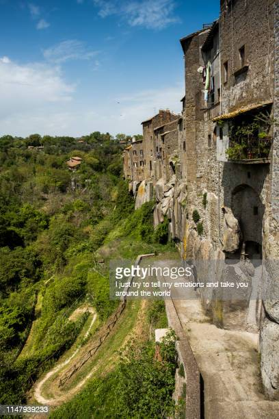 vitorchiano, viterbo, lazio - italy - latium stock pictures, royalty-free photos & images