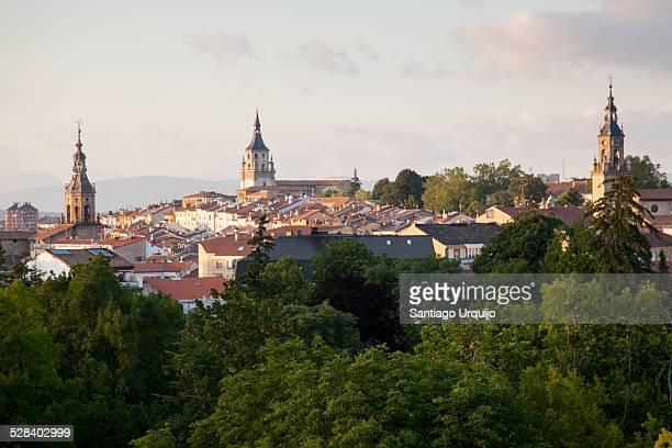 Vitoria cityscape