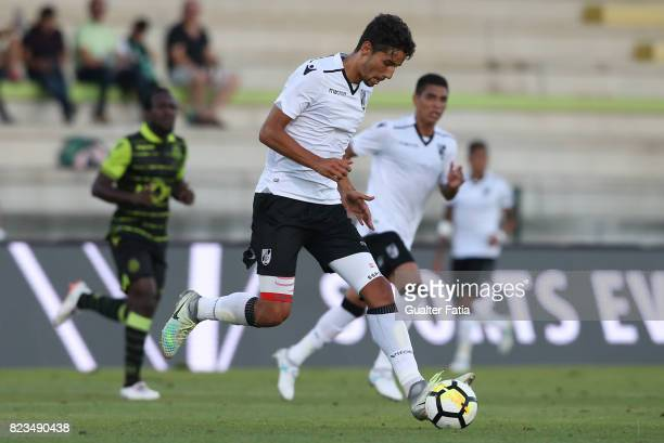 Vitoria Guimaraes defender Marcos Valente from Portugal in action during PreSeason Friendly match between Sporting CP and Vitoria Guimaraes at...