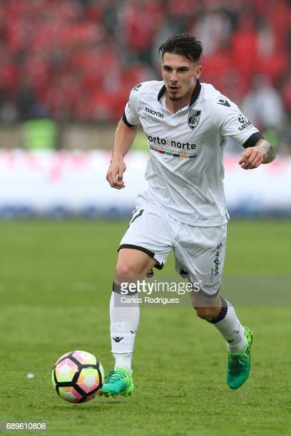 Vitoria Guimaraes forward Fabio Sturgeon from Portugal during the match between SL Benfica and Vitoria SC for the Portuguese Cup Final at Estadio...