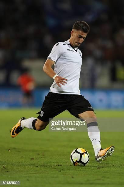 Vitoria Guimaraes forward Fabio Sturgeon from Portugal during the match between Vitoria Guimaraes v FC Porto match for the Guimaraes City Trophy at...
