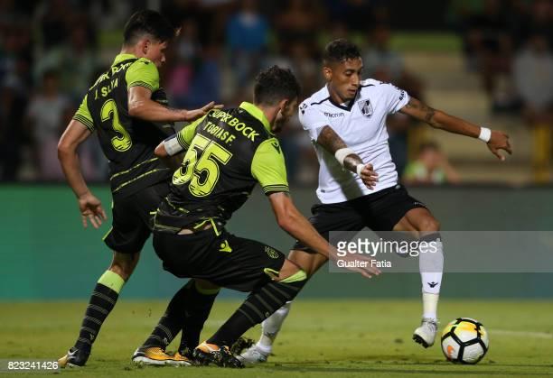 Vitoria Guimaraes forward Raphinha from Brazil in action during PreSeason Friendly match between Sporting CP and Vitoria Guimaraes at Estadio...