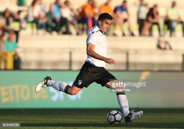 Vitoria Guimaraes midfielder Guillermo Celis from Colombia in action during PreSeason Friendly match between Sporting CP and Vitoria Guimaraes at...