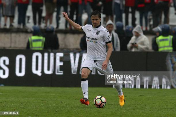 Vitoria Guimaraes midfielder Rafael Miranda from Brasil during the match between SL Benfica and Vitoria SC for the Portuguese Cup Final at Estadio...