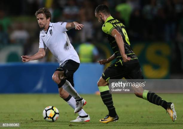 Vitoria Guimaraes midfielder Rafael Miranda from Brazil in action during PreSeason Friendly match between Sporting CP and Vitoria Guimaraes at...