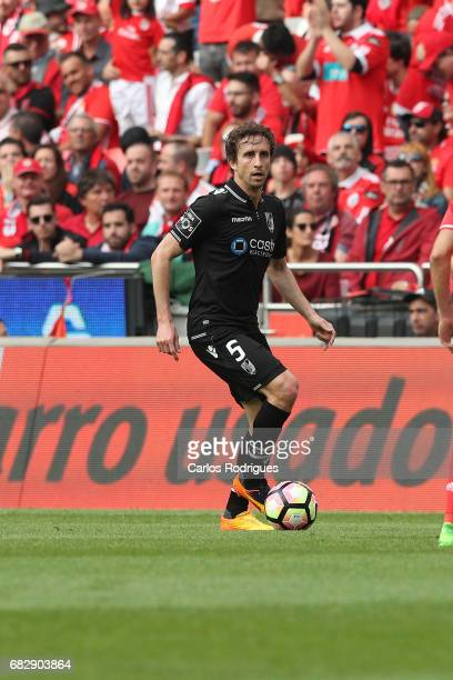 Vitoria Guimaraes midfielder Rafael Miranda from Portugal during the match between SL Benfica and Vitoria SC for the Portuguese Primeira Liga at...