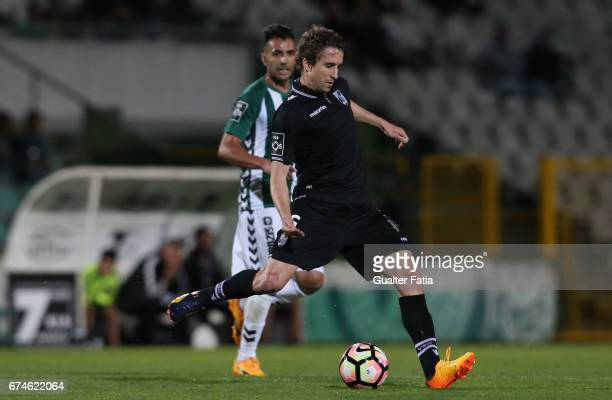Vitoria GuimaraesÕ midfielder Rafael Miranda in action during the Primeira Liga match between Vitoria Setubal and Vitoria Guimaraes at Estadio do...