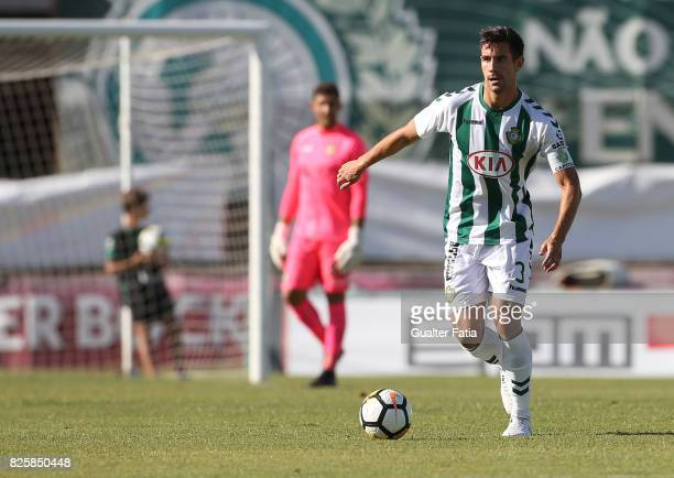 Vitoria Setubal defender Frederico Venancio from Portugal in action during the League Cup match between Vitoria Setubal and CD Tondela at Estadio do...