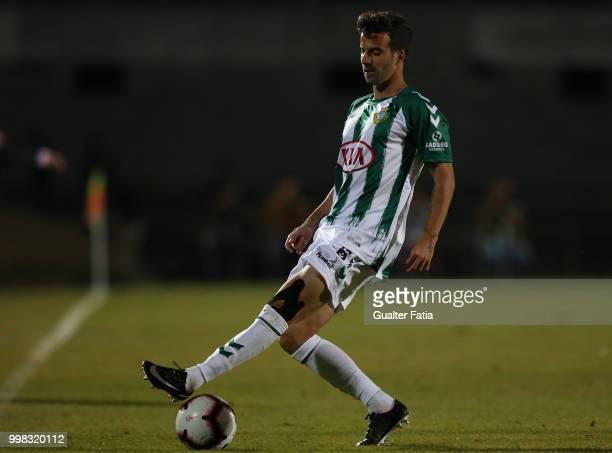 Vitoria Setubal forward Alex Freitas from Portugal in action during the PreSeason Friendly match between SL Benfica and Vitoria Setubal at Estadio do...