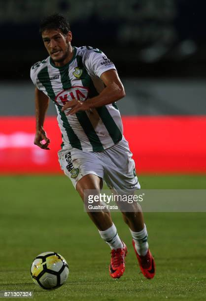 Vitoria Setubal forward Goncalo Paciencia from Portugal in action during the Primeira Liga match between Vitoria Setubal and CD Aves at Estadio do...