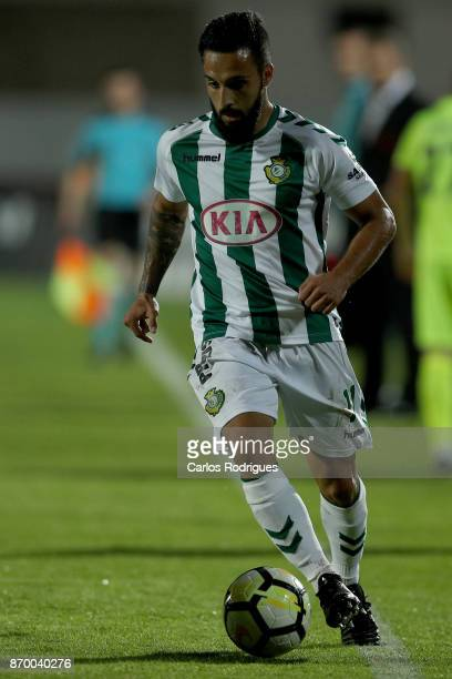 Vitoria Setubal midfielder Joao Costinha from Portugal during the match between Vitoria de Setubal FC and CD Aves for the round five of the...