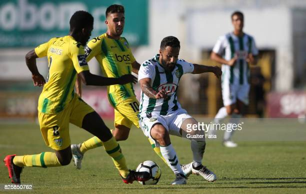 Vitoria Setubal midfielder Joao Costinha from Portugal in action during the League Cup match between Vitoria Setubal and CD Tondela at Estadio do...