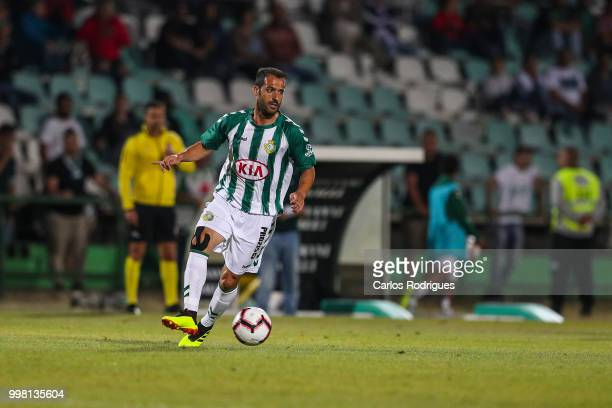Vitoria Setubal midfielder Ruben Micael from Portugal during the match between SL Benfica and Vitoria Setubal FC for the Internacional Tournament of...