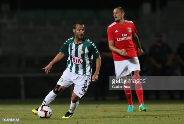 Vitoria Setubal midfielder Ruben Micael from Portugal in action during the PreSeason Friendly match between SL Benfica and Vitoria Setubal at Estadio...