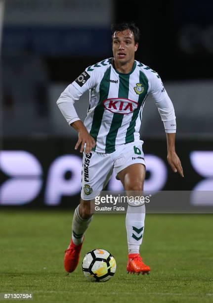 Vitoria Setubal midfielder Tomas Podstawski from Portugal in action during the Primeira Liga match between Vitoria Setubal and CD Aves at Estadio do...